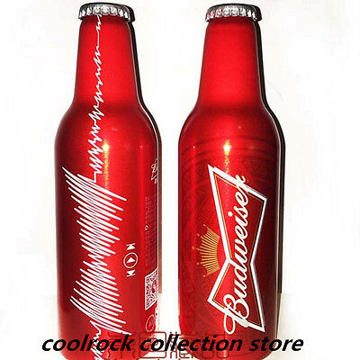 2015 China Budweiser beer MUSIC aluminium bottle 355ml empty