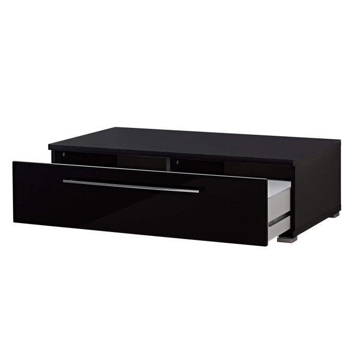 Hi gloss black TV unit