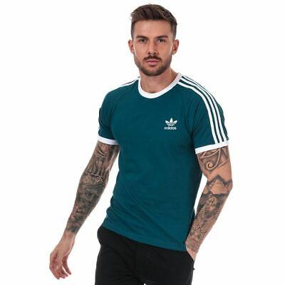 Men's adidas Originals 3-Stripes T-Shirt in Green