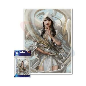 Max-Protection-100-MTG-standard-Card-Sleeves-Deck-Protector-Let-Sleeping-Dragons
