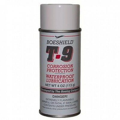 SPRAY BOESHIELD T.9  BICYCLE BIKE PROTECTION WATERPROOF CHAIN LUBE 4 oz SPRAY