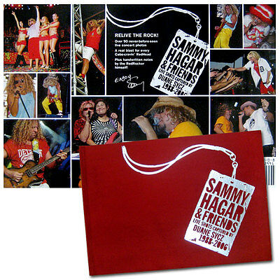 Sammy Hagar Hardcover Coffee Table Photo Book - New Official, Limited, Cabo Wabo