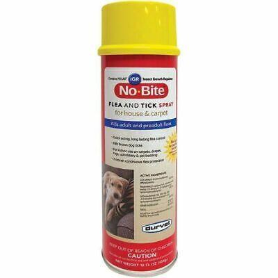 No Bite IGR Furniture & Carpet Spray kills Adult & Preadult flea tick & egg -