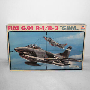 "ESCI FIAT G.91 R-1/R-3 ""GINA"" PLASTIC MODEL KIT #4027 1/48TH"