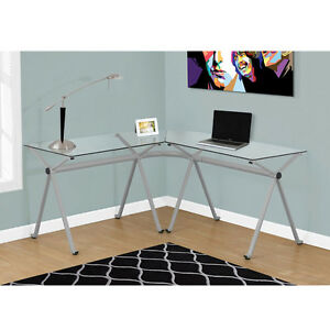 Contemporary L-Shaped Home Office Writing Desks