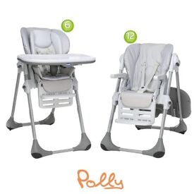 High Chairs Chicco Polly 2 In 1 Easy