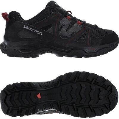Salomon Kinchega 2 schwarz rot Herren Outdoorschuhe Wanderschuhe Hiking NEU