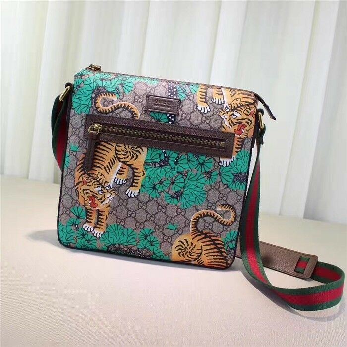 0db0d705c53e Bengal GG Supreme print messenger bag