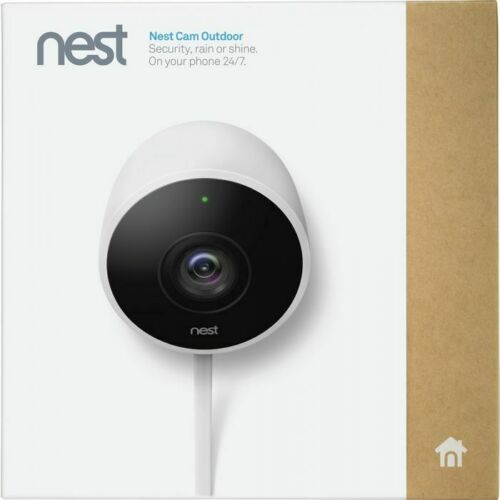 OB Google Nest Cam Outdoor 1080p Security Camera (NC2100ES) White