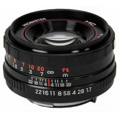 ProMaster 50mm 1.7 Manual Focus Lens for K Mount Pentax Ricoh Vivitar