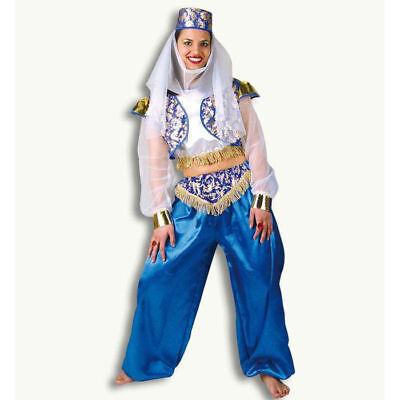 Damen-Kostüm Orientalin Leila 3-tlg. Bauchtanz Harem Orientalisch    - Harem Tanz Kostüm