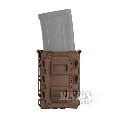 Condor MA19 Tactical MOLLE Modular Double 5.56//7.62 Rifle Magazine Bungee Pouch