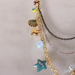 BRAND NEW Betsey Johnson Layered Necklace + Parrot Earrings Kitchener / Waterloo Kitchener Area image 7