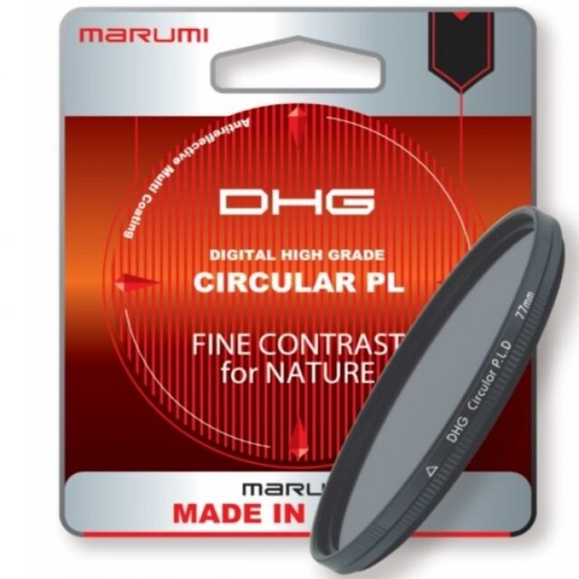 Marumi 37mm 37 mm DHG Circular Polarizing DHG37CIR Threaded Filter