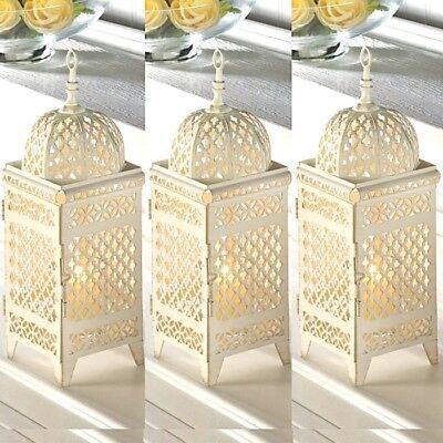 3 Rustic Moroccan Lantern 11.5
