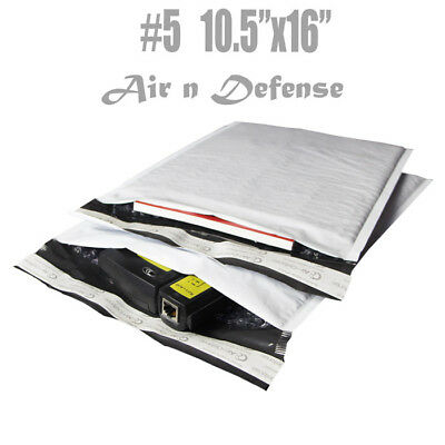 200 5 10.5x16 Poly Bubble Padded Envelopes Mailers Shipping Bags Airndefense