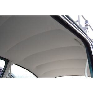 Easy Install Headliner, Off-White Perforated VW Bug Sedan 1947-1967  20-1102-44