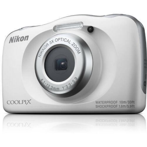 Nikon COOLPIX W150 Digital Camera (White) NEW