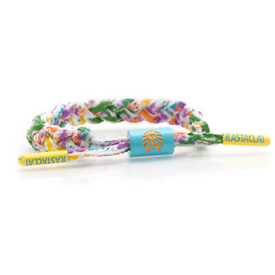 Brand New RASTACLAT Groovy White Mini Braided Shoelace Bracelet