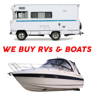 SELL US YOUR TRAILER / RV / BOAT