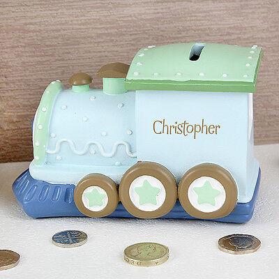Train Money Box Piggy Bank - £19.95