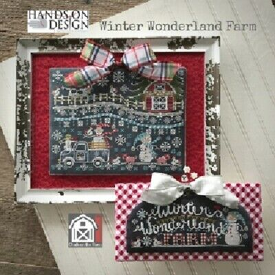 Chalk on the FARM:Winter Wonderland Farm - Hands On Design - New Chart
