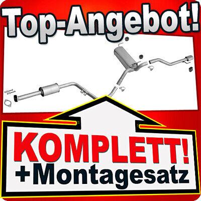 Schelle A4 Avant 2.0 Bj Audi A4 00-08 Endschalldämpfer Auspuff Endtopf