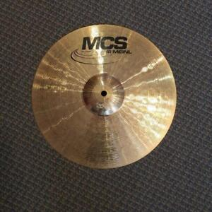"Meinl MCS Cymbale crash 14"" - used-usagée"