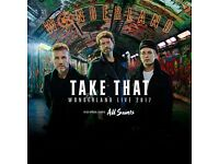 Take That Standing Tickets x 5