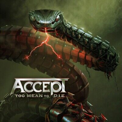 ACCEPT - TOO MEAN TO DIE - CD NEW SEALED 2021
