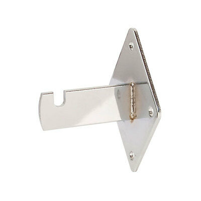 Chrome Gridwall Wallmount Brackets 25pcs