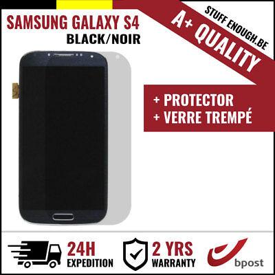 A+ LCD SCREEN/SCHERM/ÉCRAN BLACK + SCREEN GUARD FOR SAMSUNG GALAXY S4 I9500