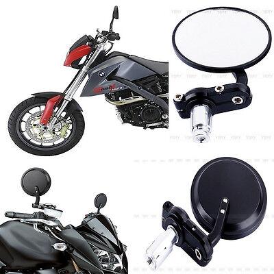NEU 2 x Rückspiegel Universal Spiegel für Motorrad Lenkerendenspiegel SCHWARZ