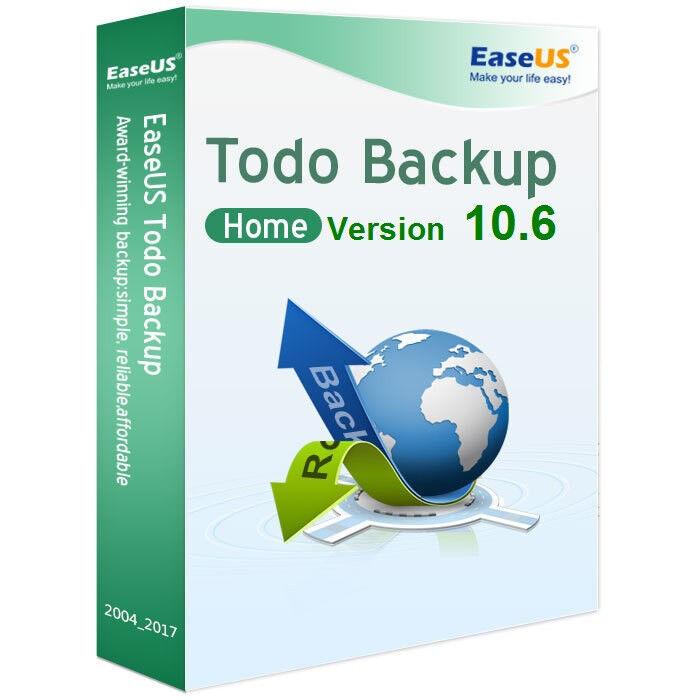 EaseUS Todo Backup Home Version 10.6 / 1 PC