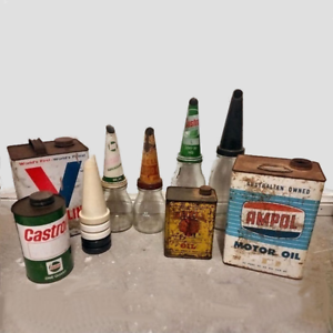 Wanted: Oil Bottles Old Tins old advertising shop signs