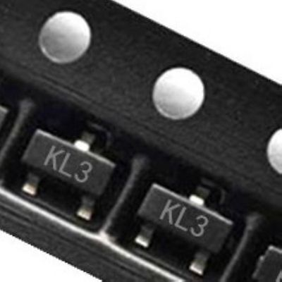 100pcs Bat54c Kl3 0.2a30v Sot-23 Schottky Barrier Diodes Smd Transistor New