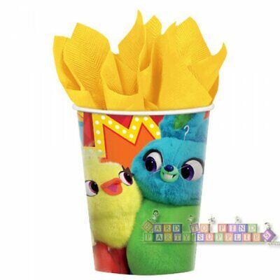 TOY STORY 4 9oz PAPER CUPS (8) ~ Birthday Party Supplies Drinking Beverage