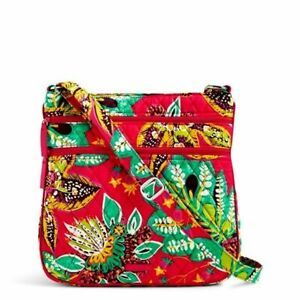 b45aa05e58 Vera Bradley Triple Zip Hipster Crossbody Bag - Rumba for sale ...