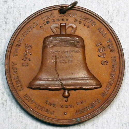 HK-25, Liberty Bell - Independence Hall, 1876 Centennial Expo, Rounded 6