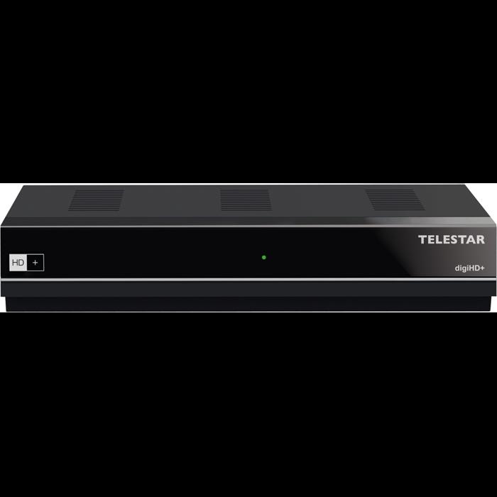 TELESTAR digiHD+ HDTV SAT Receiver DVB-S2 mit HD+ Karte HDMI Satelliten TV USB
