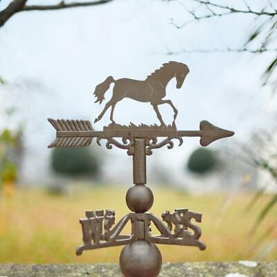 Cast Iron Horse Weathervane - Standard Rustic