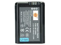 DSTE NP-FW50 2x Li-ion batteries & charger
