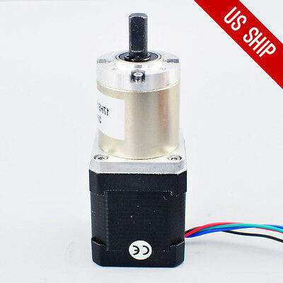 High Torque Nema 17 Stepper Motor With 511 Planetary Gearbox Cnc Robot