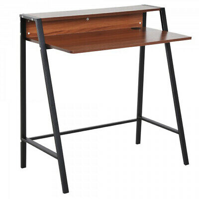 Vintage Writing Desk Pc Laptop Study Office Table Industrial Small Furniture