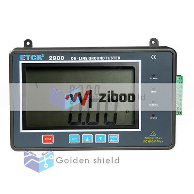 Etcr2900 Online Earth Resistance Tester On-line Monitoring Ground Resistance