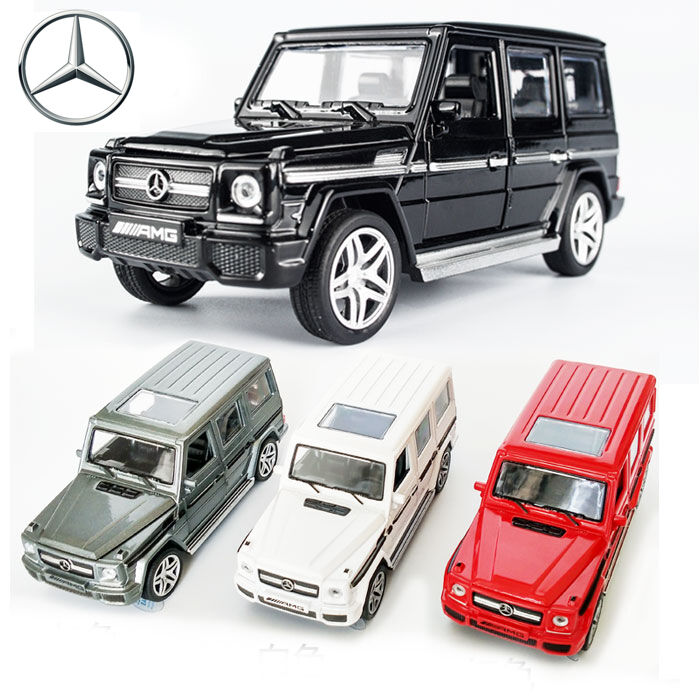 Mercedes Box Suv >> Details About 1 32 Mercedes Benz Amg G65 Suv Diecast Model Pull Back 4wd Car Kid Led Light Toy