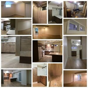 New Basement Suite for Rent in Downtown St Albert