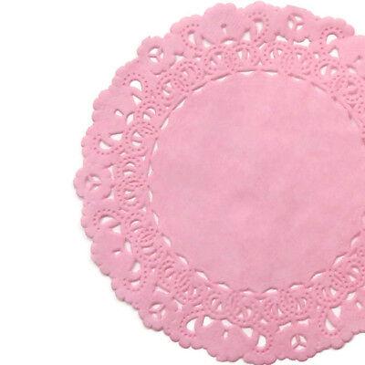 BUBBLE GUM PINK Paper Doilies | 4