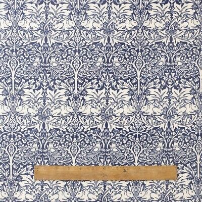 Used, William Morris Brother Rabbit Heavy  Floral Fabric By Half Metre for sale  Shipping to Canada