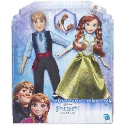Pack de 2 poupées ANNA & KRISTOFF